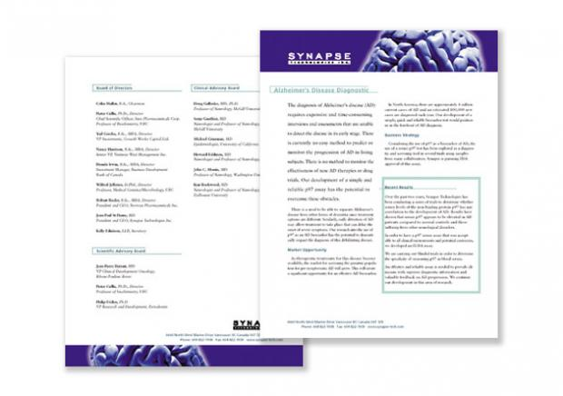 Product Sheets